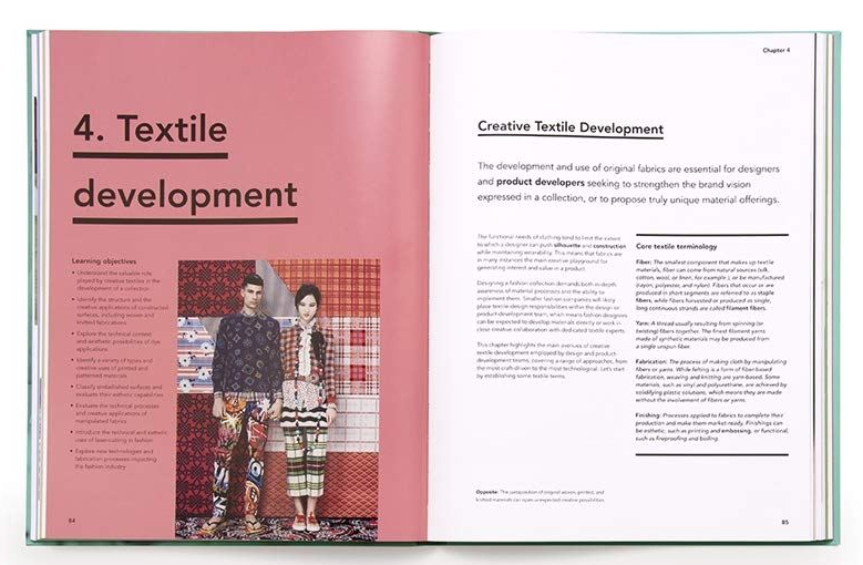 Book Fashion Design A Guide To The Industry And The Creative Process By Denis Antoine Pink Wall Blog